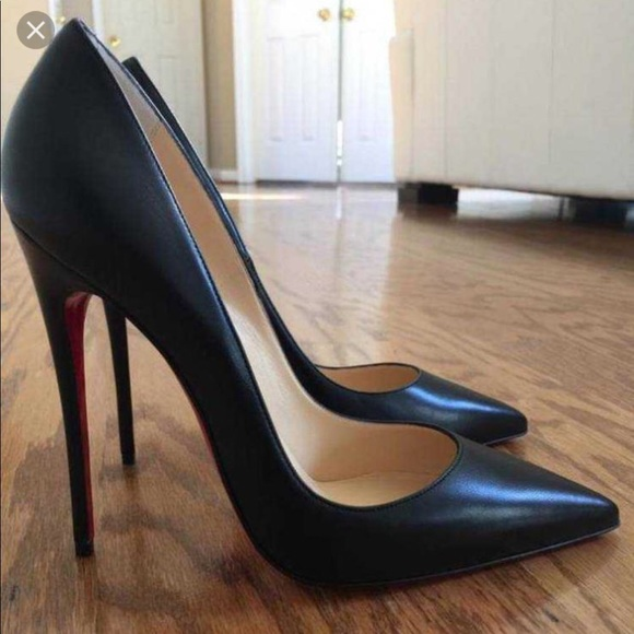 promo code c148a bff55 Christian Louboutin So Kate 120mm Kid Leather 40